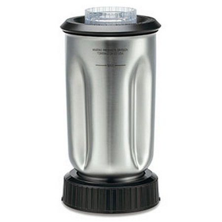 Waring Cac37 Stainless Steel Blender Jar Assembly, 32 Oz