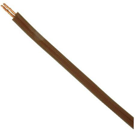 Zip Cord Lamp Cord, 18/2 Spt-1, Brown, 100' Roll