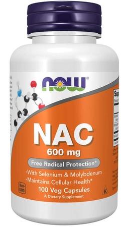 Now Foods NAC N-Acetyl-L-Cysteine 600 Mg  - 100 Cap