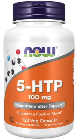 Now Foods 5-Htp - (5 Hydroxytryptophan) 100 Mg - 120 Cap