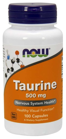Now Foods Taurine 500 Mg - 100 Cap