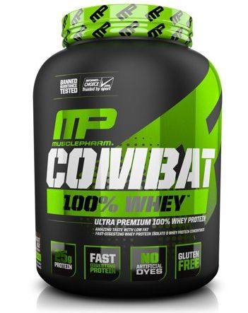 MusclePharm Combat 100% Whey Protein Chocolate - 5 Lb