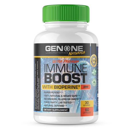 GenOne Laboratories Immune Boost w/Bioperine - 60 Cap