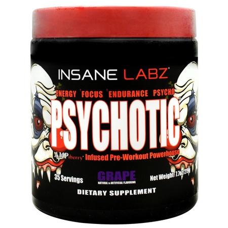 Insane Labz Psychotic  Grape - 35 Servings