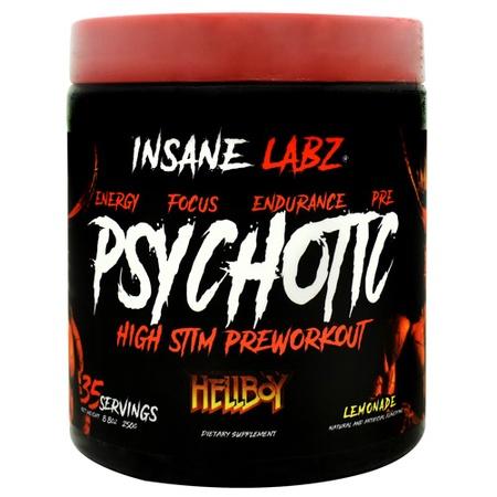 Insane Labz Psychotic Hellboy  Lemonade - 35 Servings