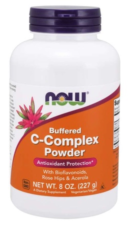 Now Foods Vitamin C-Complex, Buffered Powder - 8 oz (approx. 200 servings)