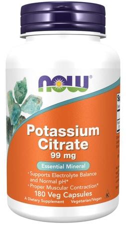 Now Foods Potassium Citrate 99 Mg - 180 Cap