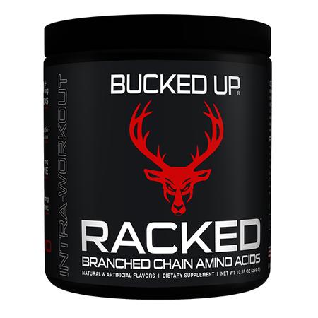 Bucked Up Racked BCAA  Blood Raz - 30 Servings
