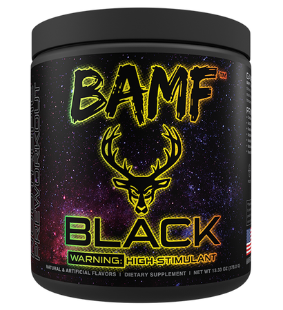 Bucked Up BAMF BLACK  Candy Shop (Sour Gummy) - 30 Servings