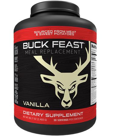 Bucked Up Buck Feast Meal Replacement Vanilla - 30 Servings