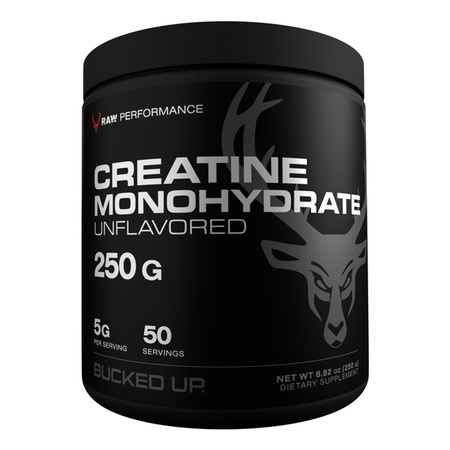 Bucked Up Creatine Monohydrate - 250 Grams
