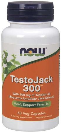 Now Foods TestoJack 300 - 60 Cap