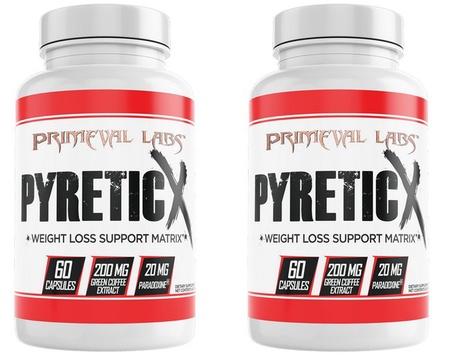 Primeval Labs Pyretic X TWINPACK - 2 x 60 Cap Btls
