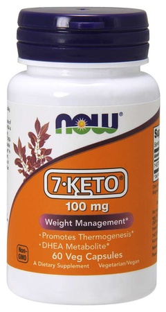 Now Foods 7 Keto 100 Mg - 60 Cap