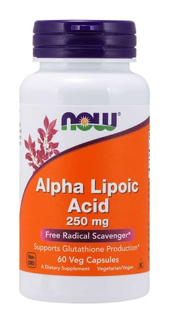 Now Foods Alpha Lipoic Acid 250 Mg - 60 VCap