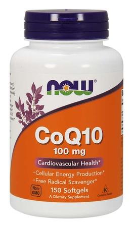 Now Foods CoQ10 100 Mg - 150 Softgel