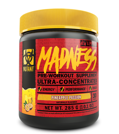 Mutant Madness Pre Workout Pineapple Passion - 30 Servings