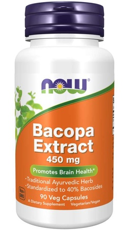 Now Foods Bacopa Extract 450 mg - 90 Cap