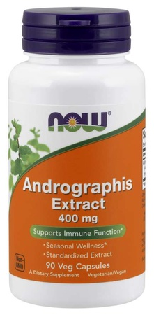 Now Foods Andrographis Extract 400 Mg - 90 Cap