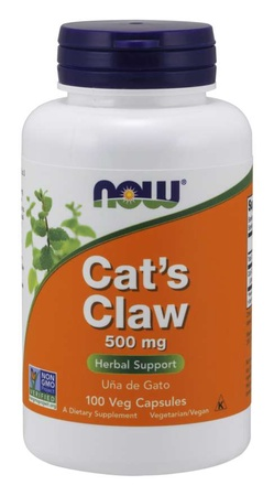 Now Foods Cat's Claw 500 Mg - 100 Cap