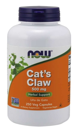Now Foods Cat's Claw 500 Mg - 250 Cap