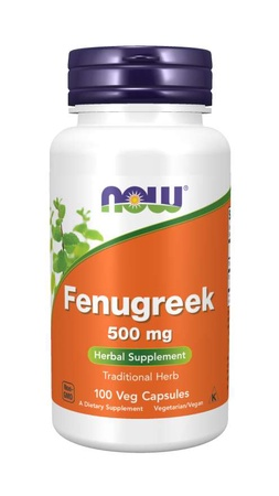 Now Foods Fenugreek 500 Mg - 100 Cap