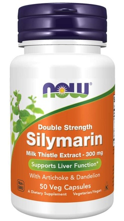Now Foods Silymarin Milk Thistle Extract 300 Mg - 50 VCap