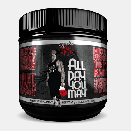 5% Nutrition All Day You May  Fruit Punch - 30 Servings