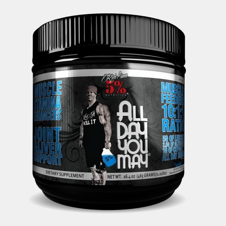 5% Nutrition All Day You May  Blue Raspberry - 30 Servings