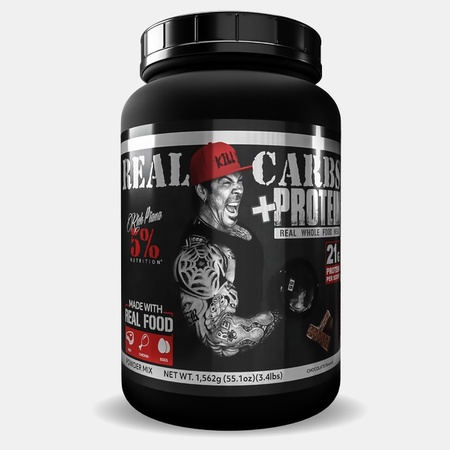 5% Nutrition Carbs + Protein Chocolate  Whole Food Based Meal Replacement - 3.4 Lbs