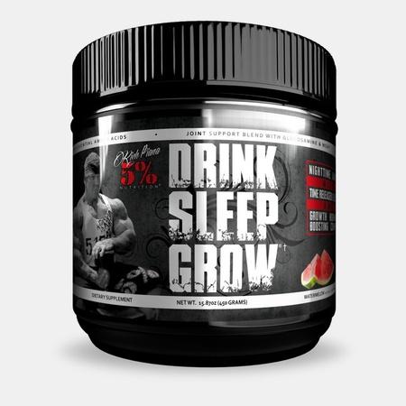 5% Nutrition Drink Sleep Grow Nighttime Amino Acids Watermelon - 30 Servings