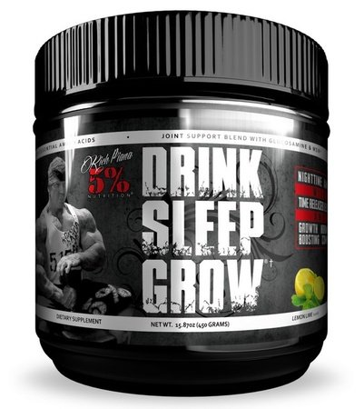 5% Nutrition Drink Sleep Grow Nighttime Amino Acids Lemon Lime - 30 Servings