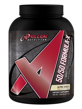 Apollon Nutrition 50/50 Formula-X Protein Alpine Vanilla - 5 Lb