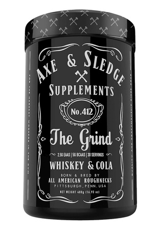 Axe & Sledge The Grind EAAS + Hydration  Whiskey and Cola - 30 Servings
