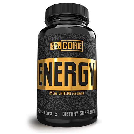 5% Nutrition CORE Energy - 60 Cap