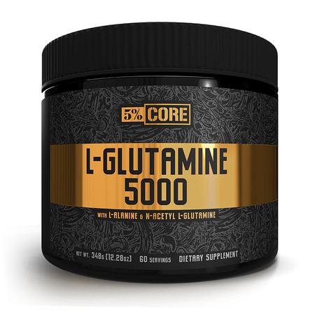 5% Nutrition CORE L-Glutamine 5000 - 60 Servings