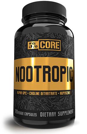 5% Nutrition CORE Nootropic - 120 Cap