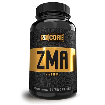 5% Nutrition CORE ZMA w/Boron - 180 Cap