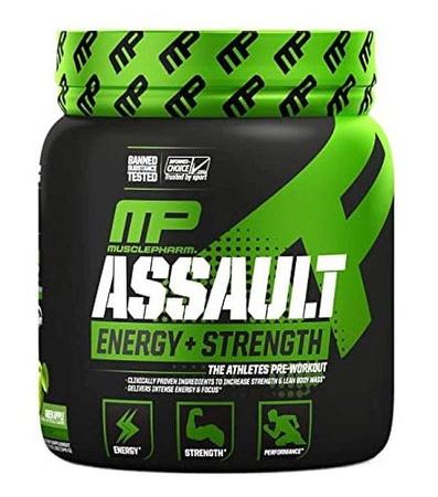MusclePharm Assault Sport Green Apple - 30 Servings