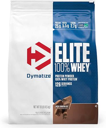 Dymatize Elite Whey Rich Chocolate - 10 Lb