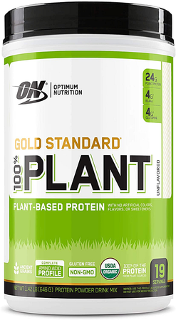 Optimum Nutrition 100% Plant Protein Unflavored - 19 Servings