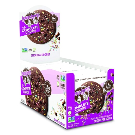 Lenny & Larry's The Complete Cookie Chocolate Donut - 12 Cookies