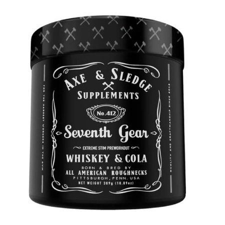 Axe & Sledge Seventh Gear Pre-Workout  Whiskey and Cola - 30 Servings