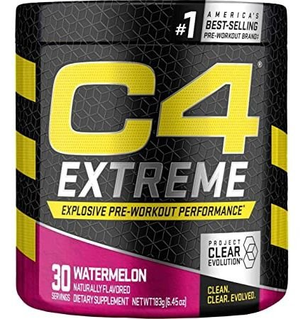 Cellucor C4 Extreme Pre Workout  Watermelon *Best by 6/21 - 30 Servings