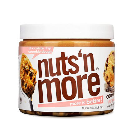 Nuts n More Chocolate Chip Cookie Dough - 14 Servings