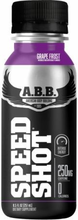 ABB Speed Shot Grape Frost - 12 Cans *Expiration date 1/21