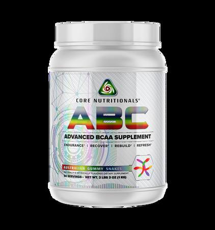 Core Nutritionals ABC Australian Gummy Snakes - 50 Servings