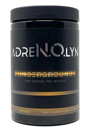 Blackmarket Labs AdreNOlyn Underground Strawberry Lemonade - 25 Servings *New Formula