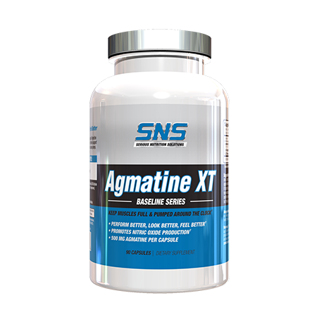 SNS Serious Nutrition Solutions Agmatine XT 500 Mg - 90 Cap
