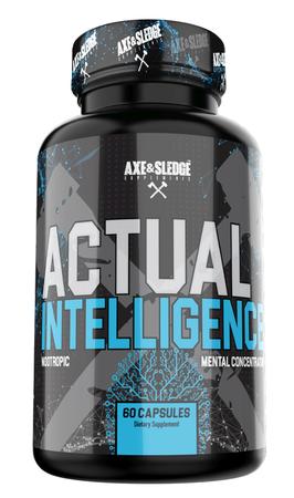 Axe & Sledge Actual Intelligence - 60 Cap